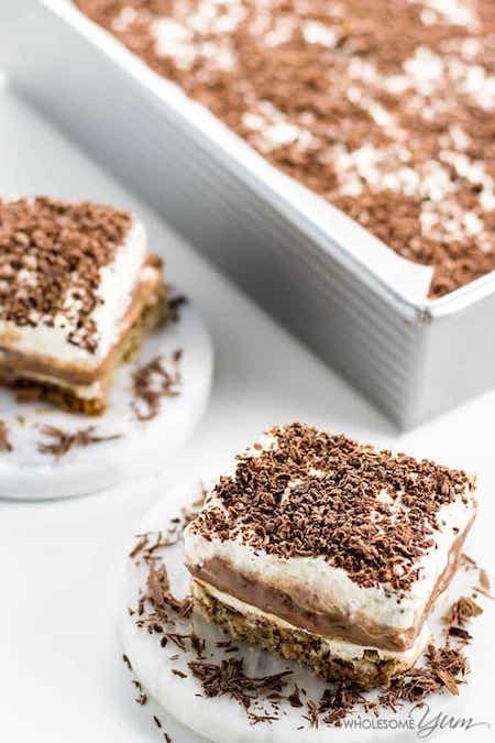 Slice of Skinny Better than Anything Cake - Best Skinny Dessert Recipes
