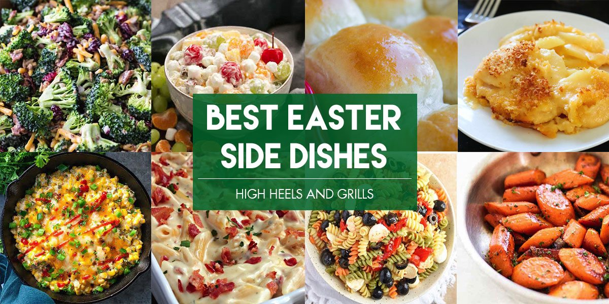 Collage of Best Easter Side Dish Recipes