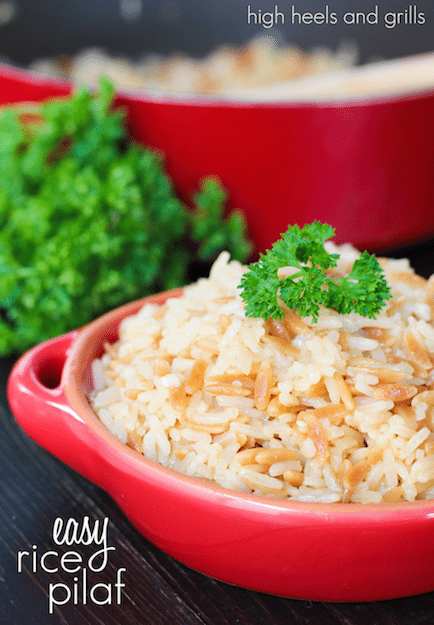 Easy Rice Pilaf - Best Easter Side Dish Recipes
