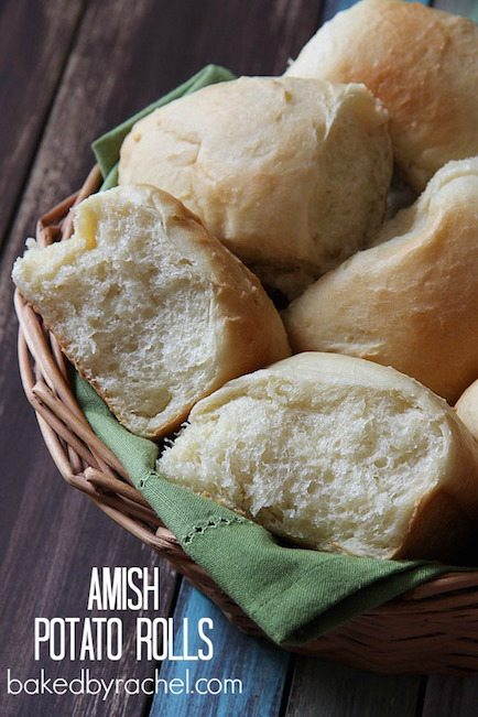 Amish Potato Rolls - Best Easter Side Dish Recipes