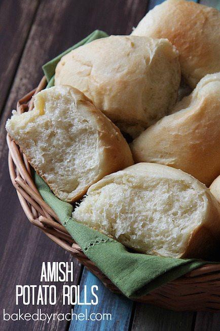 Amish Potato Rolls - Best Easter Side Dish Recipes