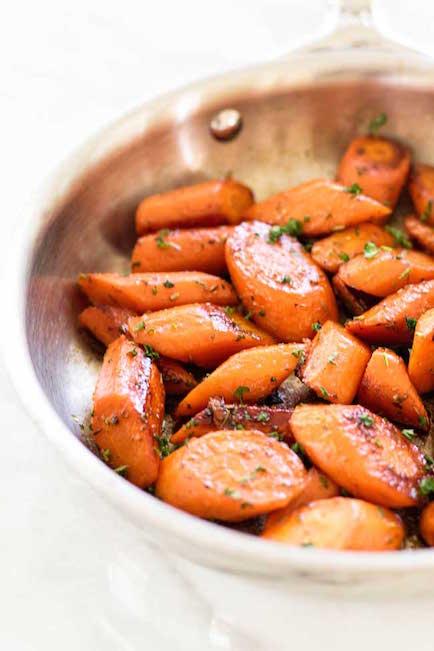 Lemon Honey Glazed Carrots - Best Easter Side Dish Recipes