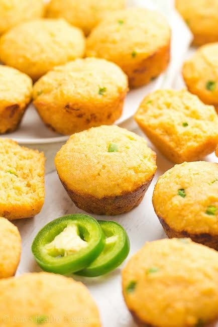 Jalapeno Corn Bread Mini Muffins - Best Easter Side Dish Recipes