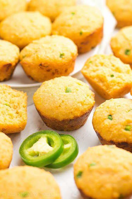 Jalapeno Corn Bread Mini Muffins - Best Easter Side Dish Recipes