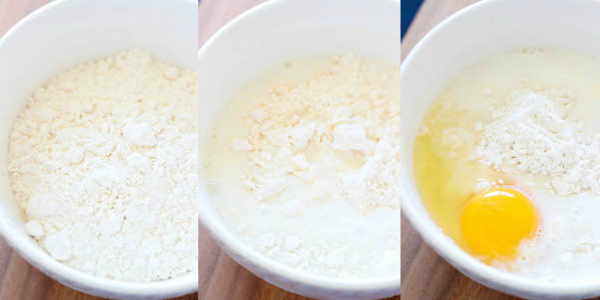 Homemade Bisquick Mix - I cannot believe how easy this is to make and it tastes just like the real thing! It only requires 4 ingredients and can be substituted in any recipe that calls for Bisquick. http://www.highheelsandgrills.com/2015/03/homemade-bisquick-mix.html